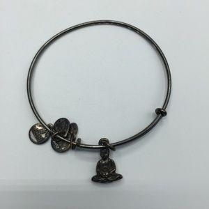 4/$10 Alex and Ani Buddha Bangle Bracelet
